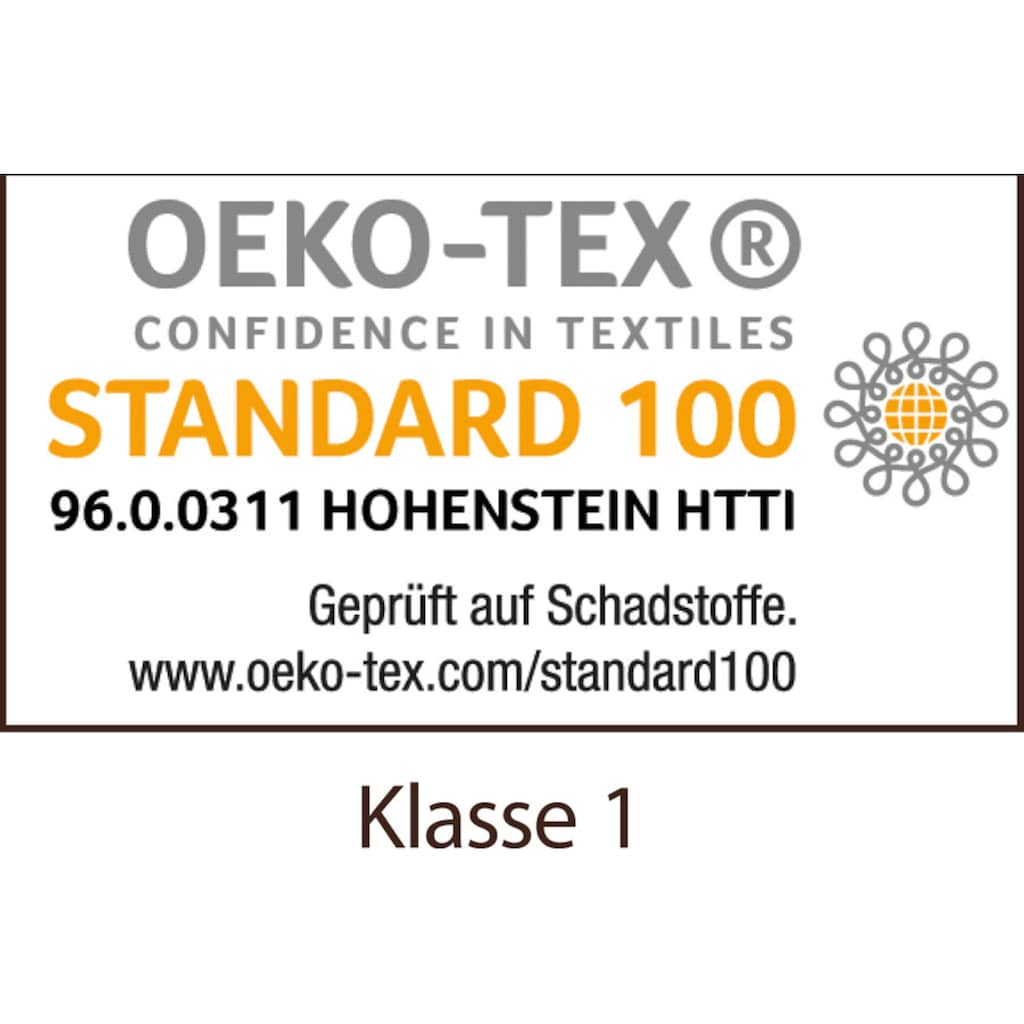 Centa-Star Baumwollkissen »Vital Plus«, Bezug: 100% Baumwolle, (1 St.)