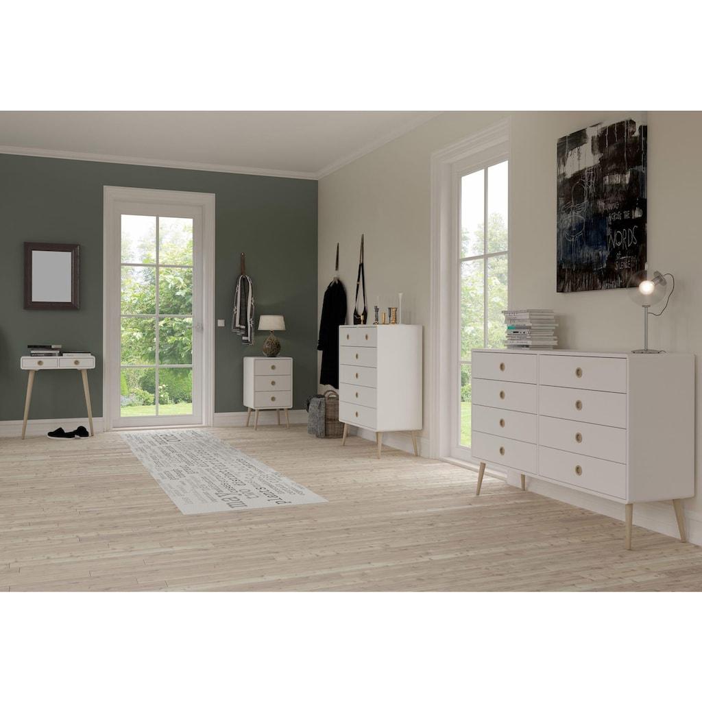 Home affaire Nachtkommode »Softline«, im Retrolook, Breite 41,5 cm