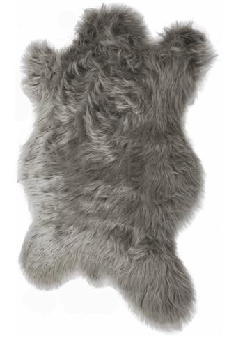KiNZLER Fellteppich »Pireo«, fellförmig, 70 mm Höhe, synthetischer Flokati, Wohnzimmer kaufen