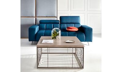INOSIGN Couchtisch »Jungle«, mit schönem Metallgestell, Tischplatte aus Beton, Breite... kaufen