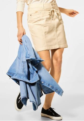 STREET ONE Minirock, im Look von klassischen Jeans kaufen