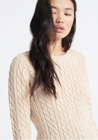 Superdry Strickpullover »BECKY CABLE KNIT« kaufen