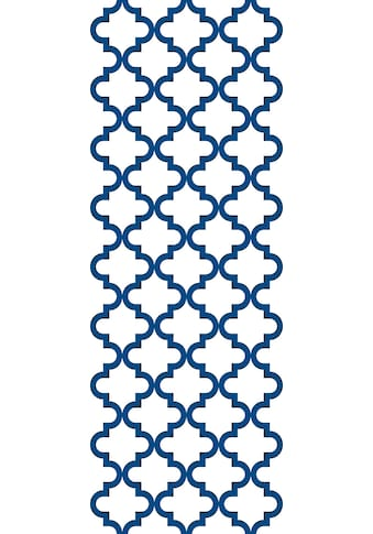 QUEENCE Vinyltapete »Quek  -  blau«, 90 x 250 cm, selbstklebend kaufen