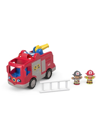 Fisher-Price® Spielzeug-Feuerwehr »Little People Feuerwehr«, mit Sound kaufen