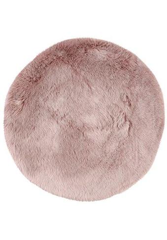 Obsession Fellteppich »My Samba 495«, rund, 40 mm Höhe, Kunstfell, ein echter Kuschelteppich, Wohnzimmer kaufen