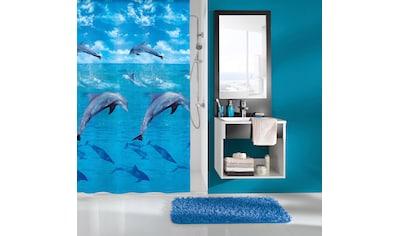 Kleine Wolke Duschvorhang »Dolphin«, Breite 180 cm, Höhe 200 cm kaufen