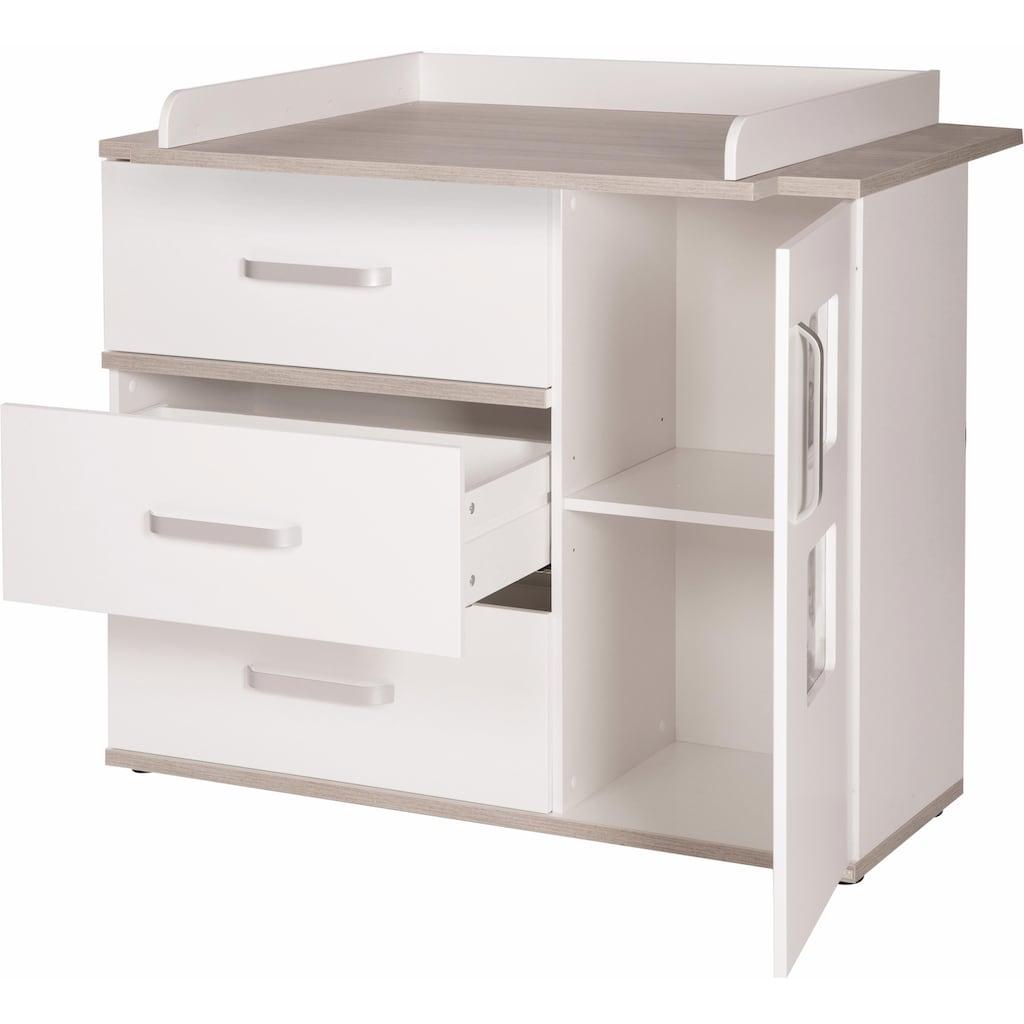roba® Babyzimmer-Komplettset »Moritz«, (Set, 3 St.), breit; mit Kinderbett, Schrank und Wickelkommode; Made in Europe