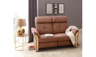 DELAVITA Sofa »Kitzbühl«, mit hochwertigen Holzchatosen, wahlweise mit motorischer Relaxfunktion links und rechts kaufen