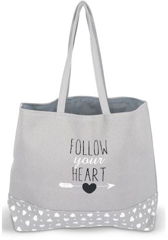 Franz Müller Flechtwaren Einkaufsshopper »Follow your Heart« kaufen