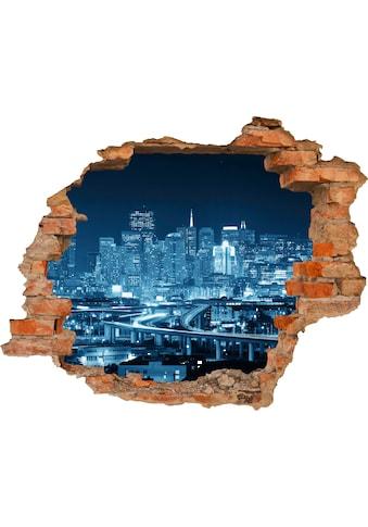 Conni Oberkircher´s Wandsticker »Blue City« kaufen