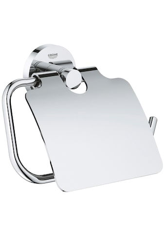 GROHE Toilettenpapierhalter »Essentials«, mit Deckel, chrom kaufen