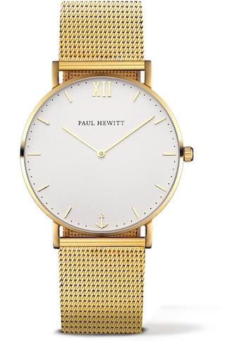 PAUL HEWITT Quarzuhr »PH - SA - G - SM - W - 4S« kaufen