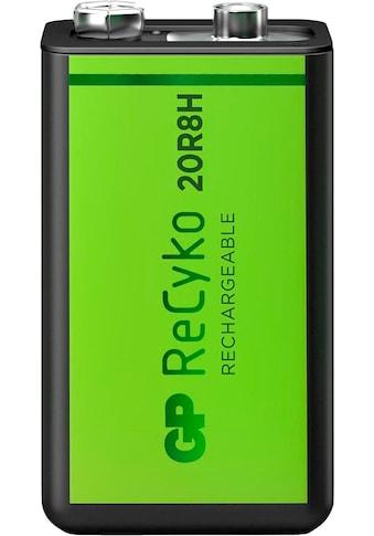 GP Batteries Akku »9V Akku GP NiMH 200 mAh ReCyko 8,4V 1 Stück« kaufen
