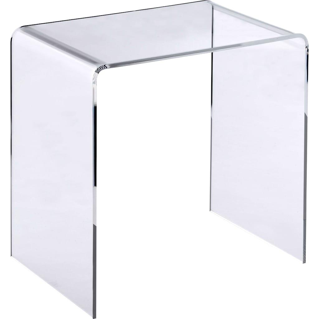Places of Style Beistelltisch »Glarus«, Acrylglastisch in hochwertiger Verarbeitung, made in Germany