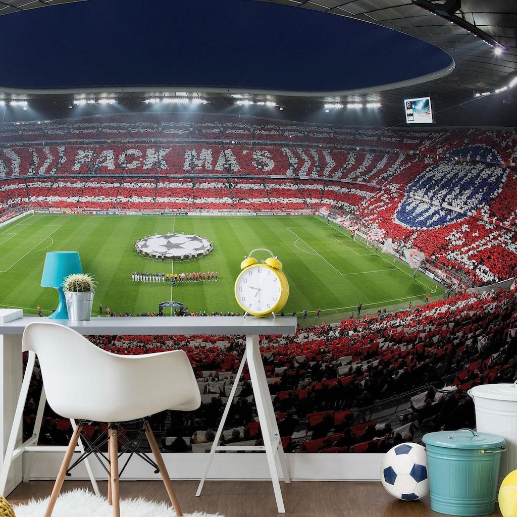 Wall-Art Fototapete »Bayern München Stadion Choreo Pack Mas«