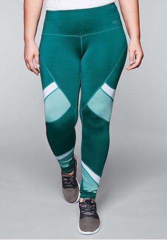 Sheego Leggings, aus atmunsaktiver Stretch-Qualität kaufen