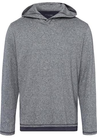 Schiesser Langarmshirt »Mix & Relax«, im Lagenlook, mit Kapuze kaufen
