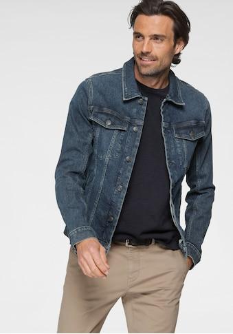 TOM TAILOR Jeansjacke, mit Brusttaschen, sowie Eingrifftaschen auf der Frontseite kaufen