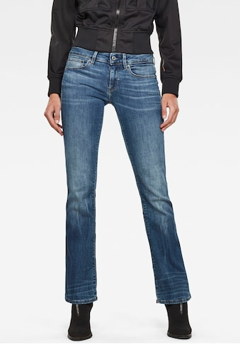G - Star RAW Bootcut - Jeans »3301 Mid Skinny Bootcut Jeans« kaufen