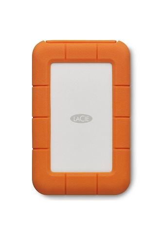 "LaCie Rugged Thunderbolt USB - C SSD, 1 TB, externe SSD »2.5"", Thunderbolt, USB - C, für Mac & PC« kaufen"