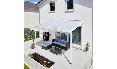 GUTTA Terrassendach »Premium«, BxT: 410x306 cm, Dach Polycarbonat Opal kaufen