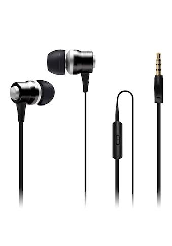 Connect IT Headset »IT Alu Sonics EP - 222 - BK mit Mikrofon schwarz« kaufen