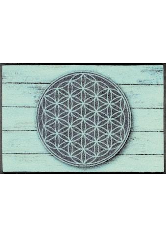 Fußmatte, »Pattern of Life«, wash+dry by Kleen - Tex, rechteckig, Höhe 7 mm, gedruckt kaufen