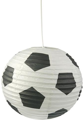 niermann Hängeleuchte »Fußball Aufhängung«, E27, 1 St., Papier-Pendelleuchte Fußball kaufen