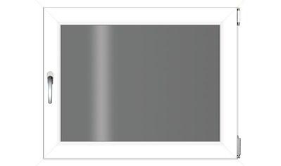 RORO Türen & Fenster Kunststofffenster, BxH: 80x60 cm, ohne Griff kaufen