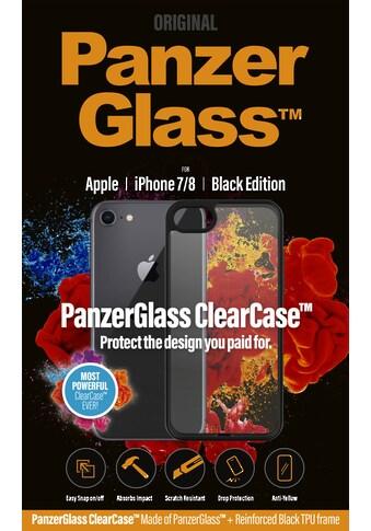 PanzerGlass Handyhülle »ClearCase mit Blackframe für iPhone 7/8«, Cover kaufen