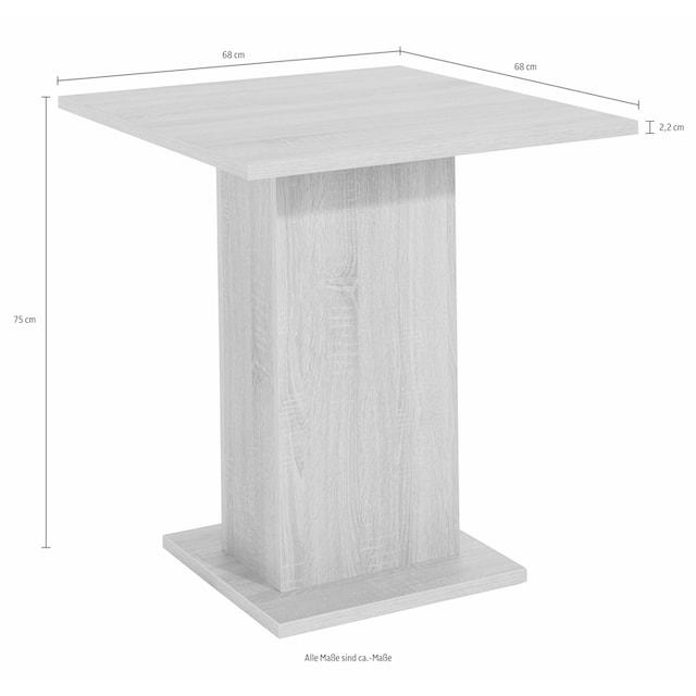 Säulen-Esstisch