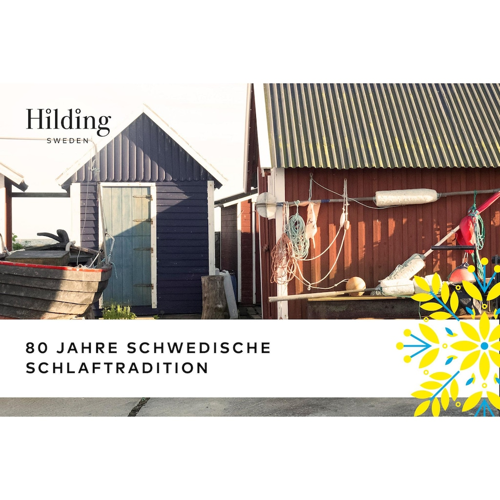 Hilding Sweden Komfortschaummatratze »Stjärna«, (1 St.), besonders wertig verarbeitet
