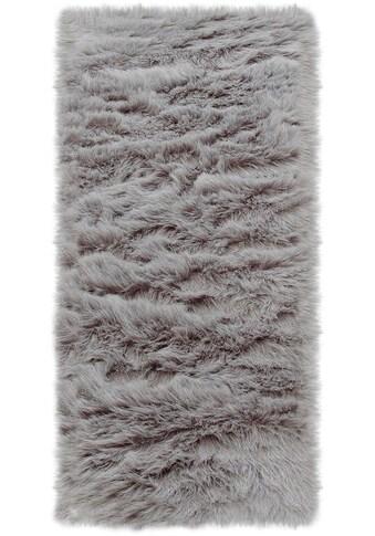 Home affaire Läufer »Valeria«, rechteckig, 60 mm Höhe, Kunstfell, sehr weicher Flor,... kaufen