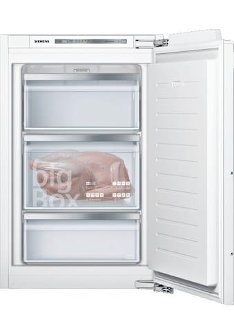 SIEMENS Einbaugefrierschrank »GI21VAFE0«, iQ500, GI21VAFE0, 87,4 cm hoch, 55,8 cm breit kaufen
