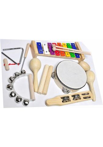 Clifton Percussion-Set »9 teiliges Kinder Percussion Set mit CD« kaufen