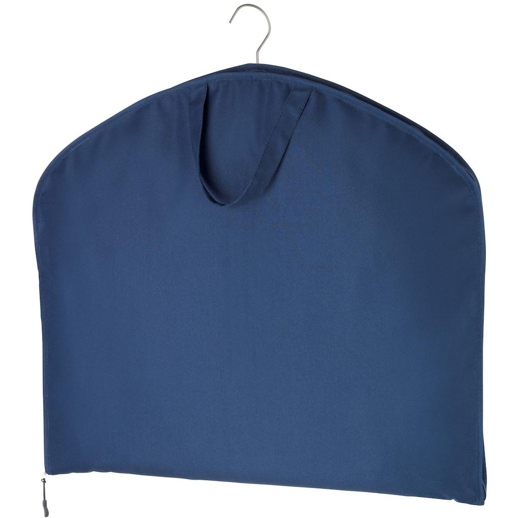 WENKO Kleidersack »Business Premium«, mit Schuhtasche 2er Set, Kleidersack: je 112 x 62 cm, Tasche: je 40 x 30 cm, strapazierfähiges Polyester, abwaschbar