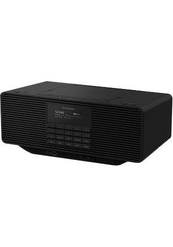 Panasonic Radio »RX-D70BTEG-K«, (Digitalradio (DAB+)-FM-Tuner), mit CD kaufen