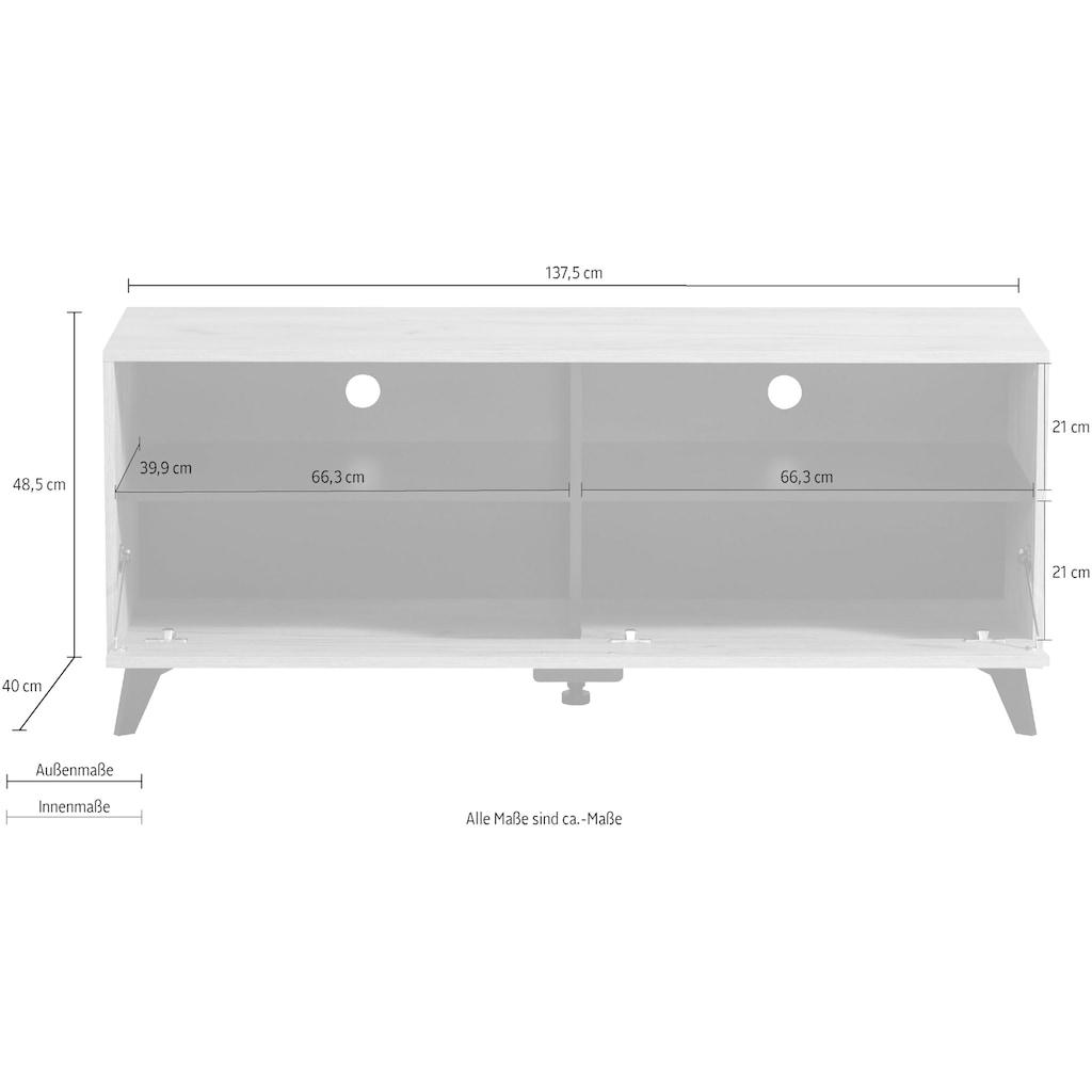 my home Lowboard »Umbria«, Breite ca. 137,5 cm