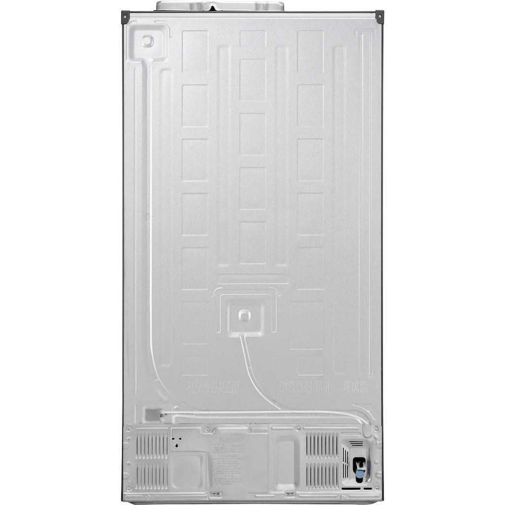 LG Side-by-Side, GSJ760PZZE, 179 cm hoch, 91,2 cm breit