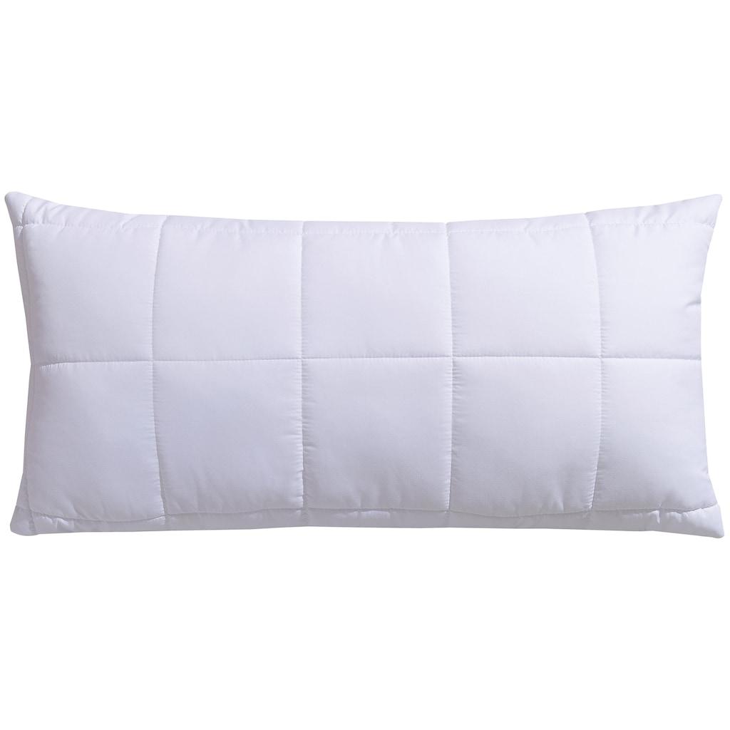 fan Schlafkomfort Exklusiv Microfaserkissen »Warmmax«, Füllung: Faserbällchen (100% Polyester), Bezug: 100% Polyester, (1 St.)