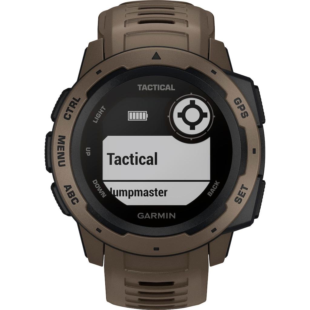 Garmin Smartwatch »Instinct Tactical«