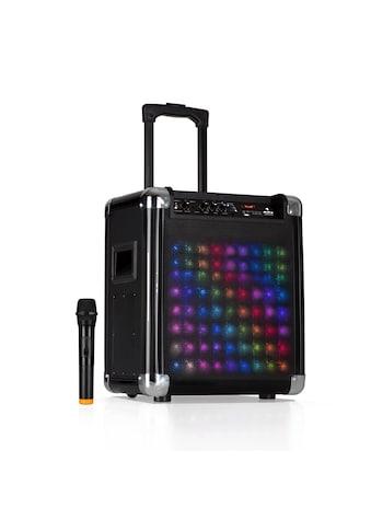 """Auna LED PA - Anlage 8"""" Woofer 100 W max VHF - Mikro USB »FS - 801L« kaufen"""