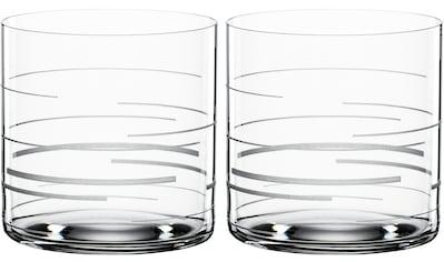 SPIEGELAU Tumbler-Glas »Lines«, (Set, 2 tlg.), Dekor graviert, 330 ml, 2-teilig kaufen