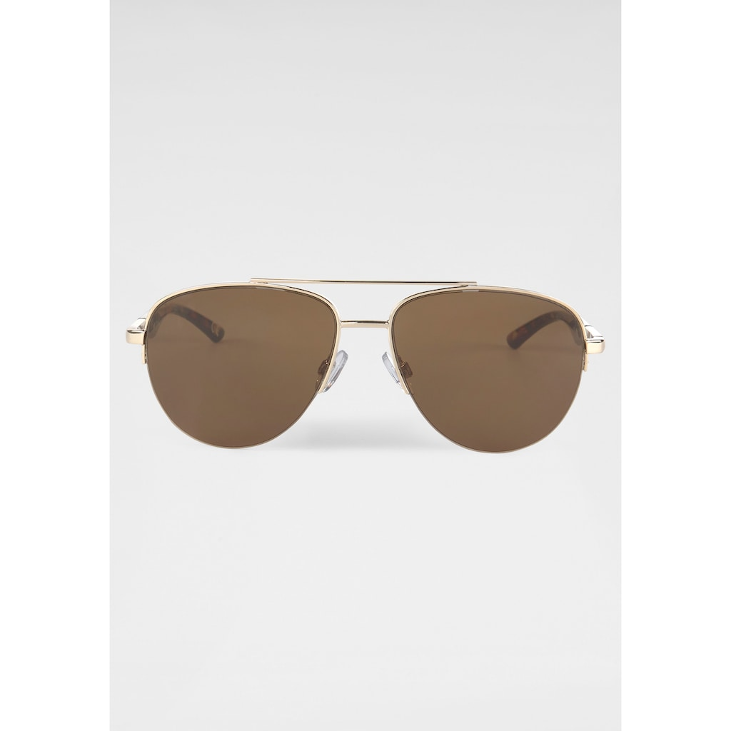 ROUTE 66 Feel the Freedom Eyewear Pilotenbrille, mit Federscharnier
