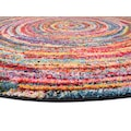 OCI DIE TEPPICHMARKE Teppich »SIXTEEN ROUND«, rund, 25 mm Höhe