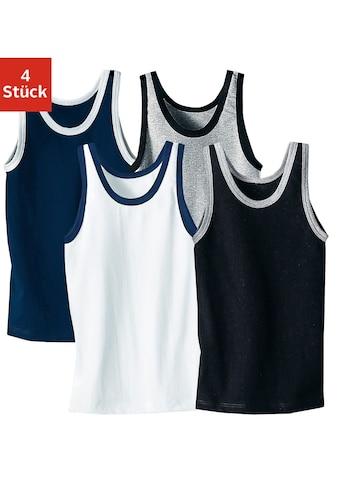 AUTHENTIC UNDERWEAR Unterhemd, mit kontrastfarbigen Einfassungen kaufen