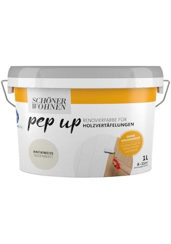 SCHÖNER WOHNEN-Kollektion Lack »pep up - antikweiß«, seidenmatt, für Holzvertäfelungen... kaufen