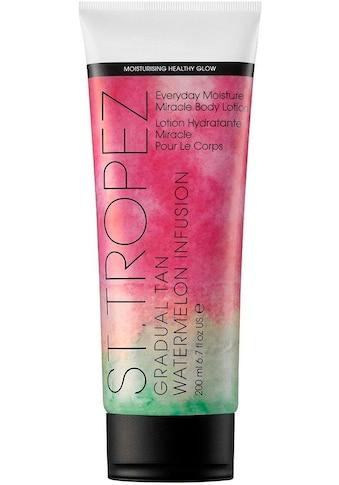 St.Tropez Selbstbräunungslotion »Gradual Tan Watermelon Infusion Everyday Moisture Miracle Body Lotion« kaufen