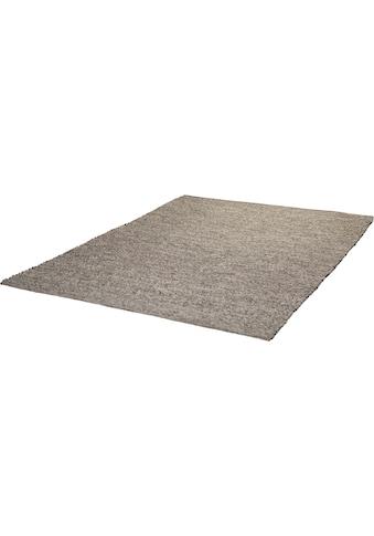 Obsession Wollteppich »My Kjell 865«, rechteckig, 10 mm Höhe, reine Wolle, handgewebt, Wohnzimmer kaufen