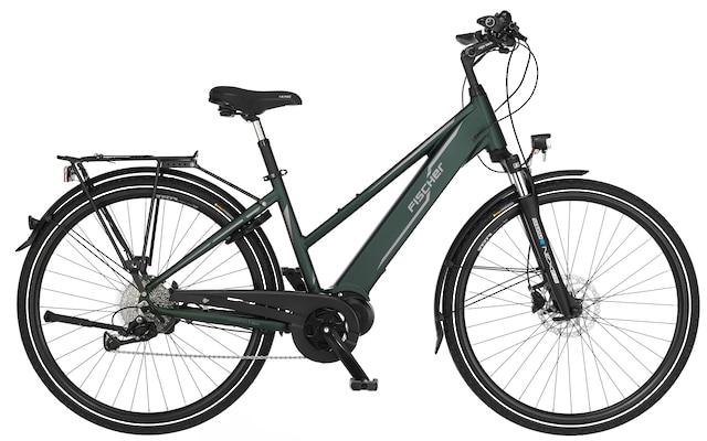 E-Bike in Grün